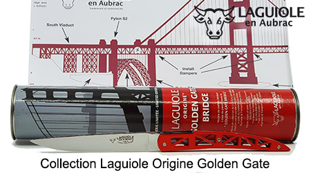 Laguiole Golden Gate Origin