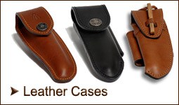 Laguiole leather cases