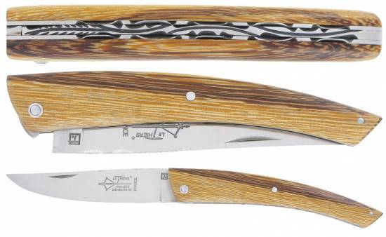 Le Thiers full snake wood handle (12cm)