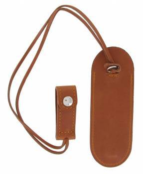 leather case Laguiole Fob pocket 11 - 12cm Maya