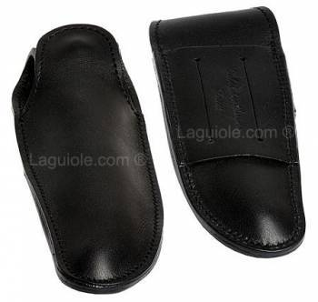 leather case Laguiole CLASS 12cm Black