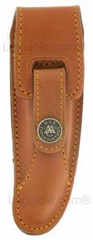 -leather case Laguiole Prestige 12cm MAYA