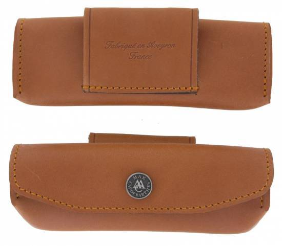 leather case Laguiole Provencal 12 - 13 cm Maya