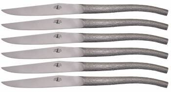 Laguiole Table knives Monobloc Starck (Set of 6) - Forge de Laguiole
